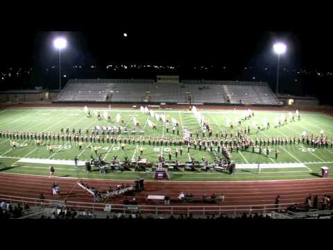 Round Rock High School Dragon Band - Sept 16, 2011