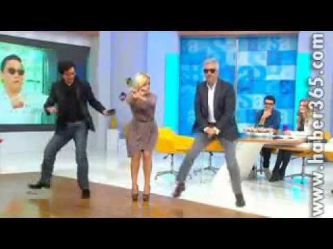 Saba tümer gangam style dansı :D