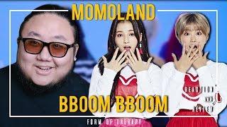 "Producer Reacts to MOMOLAND ""BBOOM BBOOM 뿜뿜"""