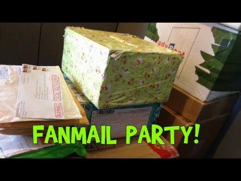 Ridiculous Amount of Fan Mail Opening!