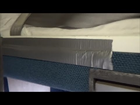 Amtrak Train - Sleeping Car Family Bedroom - The Duct Tape Bunk Bed