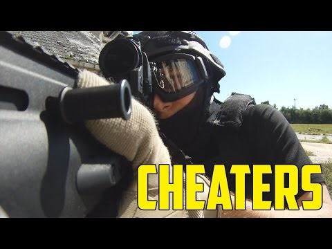 Airsoft - Cheaters