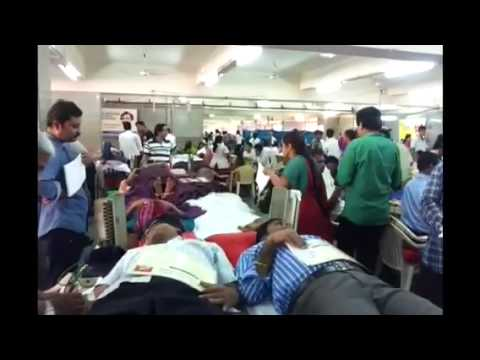 Aniruddha Upasana Foundation Mega Blood Donation Camp - Blo
