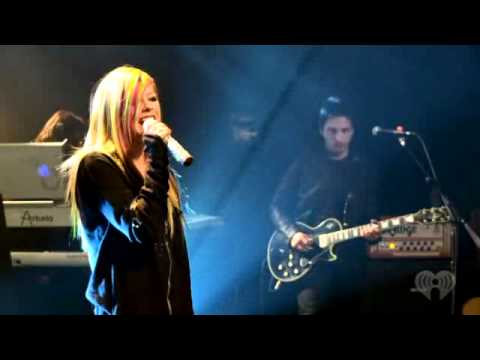 Avril Lavigne - Wish You Were Here Live video
