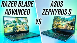 ASUS Zephyrus S (GX701) vs Razer Blade 15 Advanced - RTX Gaming Laptop Comparison