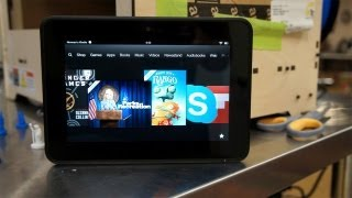 Quick Look at the Amazon Kindle Fire HD (7-Inch)