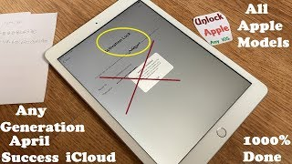 April 2019!!! iPad iCloud Unlock and Remove iCloud Account iPhone iOS 6,7,8,9,10,11,12✔