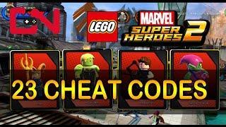 LEGO Marvel Super Heroes 2 - All 23 Cheat Codes & Showcase