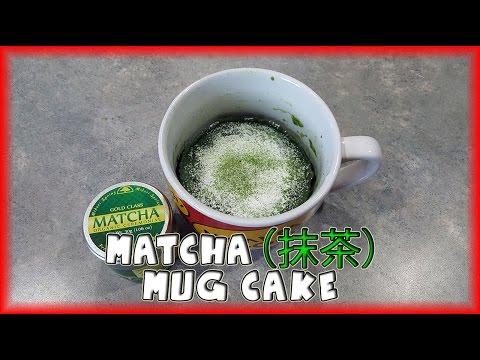 Matcha (抹茶) Green Tea Mug Cake