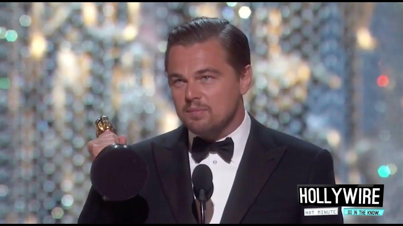 Leonardo DiCaprio Finally Wins Oscar For Best Actor! (VIDEO)