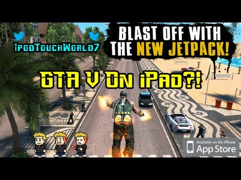 GTA V On iPad?!?! Gangstar Rio: City of Saints App Review for iDevices
