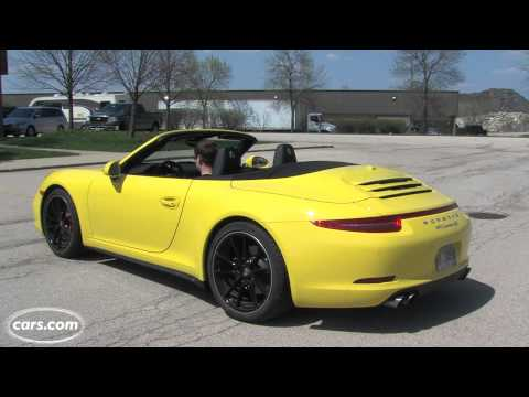 2013 Porsche 911 Carrera 4S Cabriolet Exhaust Note
