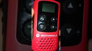walkie-talkie motorola tlkr t40