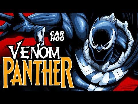 BLACK PANTHER x VENOM ( MARVEL Superheroes Fan Animation )