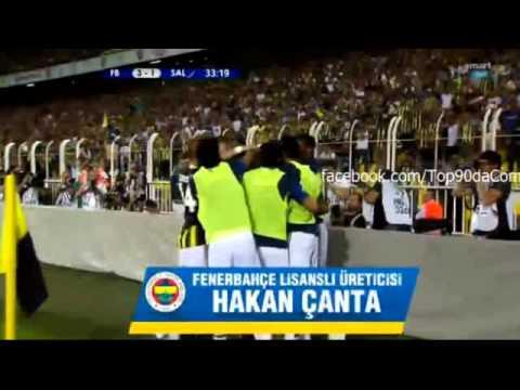Fenerbahçe vs Salzburg (3-1) Tüm Goller ve Maç Özeti [ aggregate score 4-2 ] 6/8/2013 Video HD