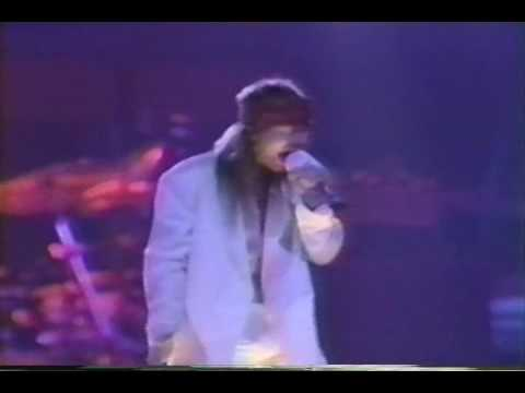 guns n roses Estranged - Oklahoma 92 Video