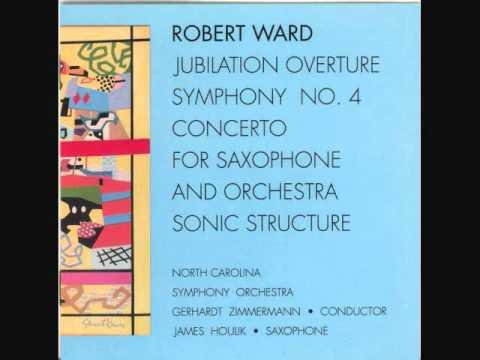ROBERT WARD: Concerto for Saxophone (1983): Move. II: Allegro