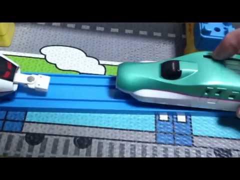 ������ ����� [E5系&E3系 0�� �����] Takaratomy Plarail E5 Series �E3 Series Shinkansen.