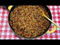 BEEF AND BEAN TACO FILLING!! SHELF COOKING KITCHEN BASICS!!