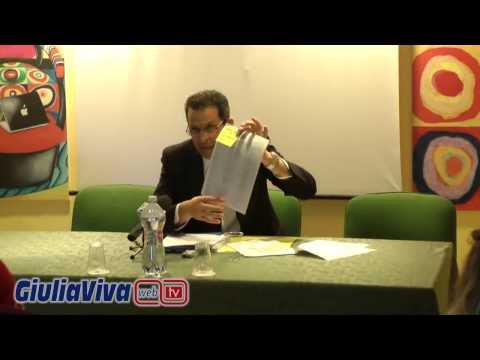 Sabato 20 dicembre 2014 conferenza stampa Ferdinando Perletta Amm delegato ASD Città di Giulianova 1