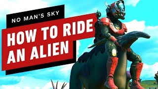 No Man's Sky: Beyond - How to Ride Creatures