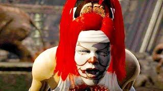Mortal Kombat XL - All Fatalities & X-Rays on Pennywise Kitana Costume Mod 4K Gameplay Mods