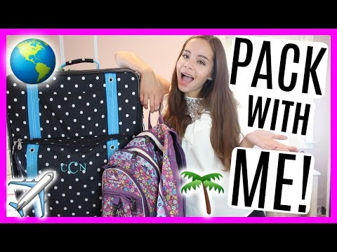What To Pack For Vacation Summer 2017! Outfits & Packing Tips