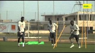 CAN 2015 | Senegal // Tunisie - Séance d'entraînement des Lions