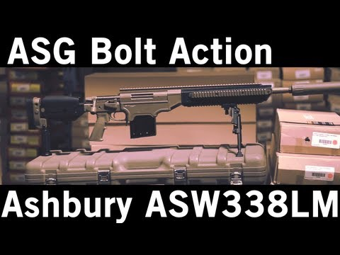 Airsoft GI - ASG Ashbury Precision Ordnance ASW338LM Spring Bolt Action Sniper Rifle