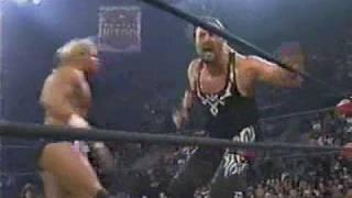 (04.20.1998) WCW Monday Nitro Pt. 17 - Bryan Adams vs. Lex Luger