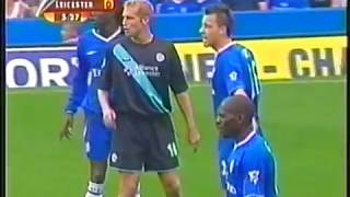 Chelsea vs Leicester City 2003 - Premier League - Full match - English audio.