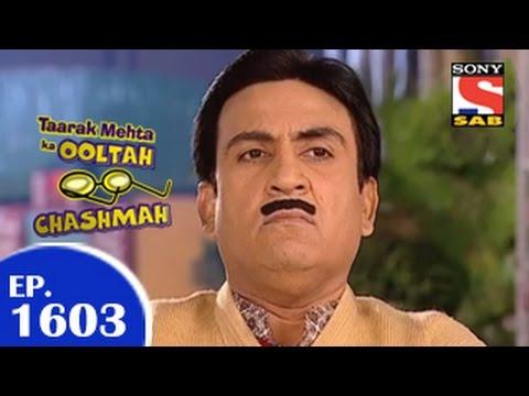 Taarak Mehta Ka Ooltah Chashmah - तारक मेहता - Episode 1603 - 9th February 2015 video