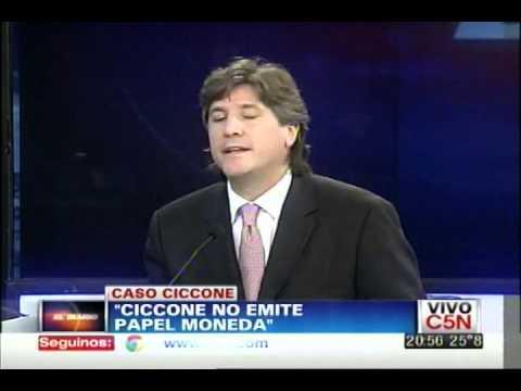 C5N - CASO CICCONE: HABLA AMADO BOUDOU | PARTE 3