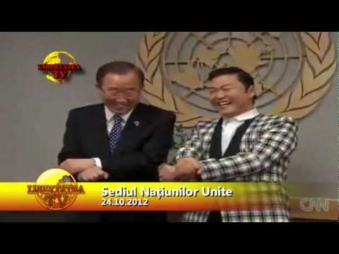 Ltv - Secretarul General Onu A Dansat Alaturi De Psy video