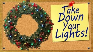 Take Down Your Lights!