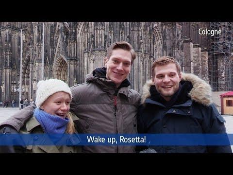 #WakeUpRosetta -- Wake up!