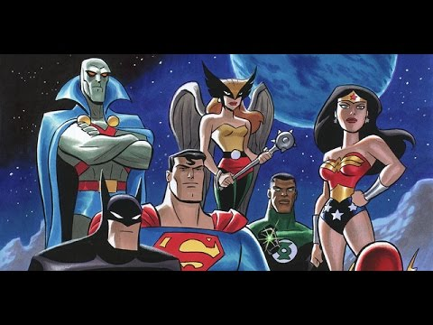 darker Justice League Animated Series Coming Soon video