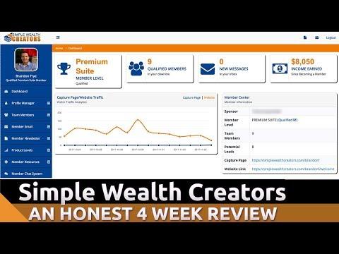 Simple Wealth Creators Review - My 4 Week Review