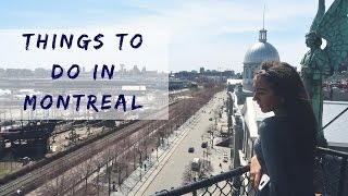 THINGS TO DO IN MONTREAL || VLOG: STAYCATION