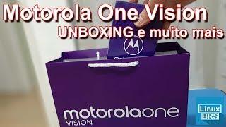 Motorola One Vision - UNBOXING, especificações e primeras impressões