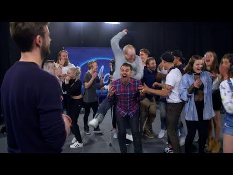 Nyheten som får deltagarna att skrika av glädje i Idol 2017 - Idol Sverige (TV4)