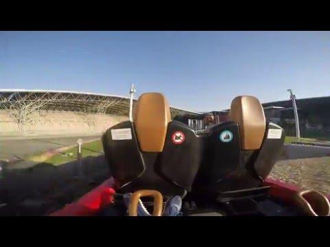 Racing Coasters Fiorano GT Challenge Ferrari World em Abu Dhabi