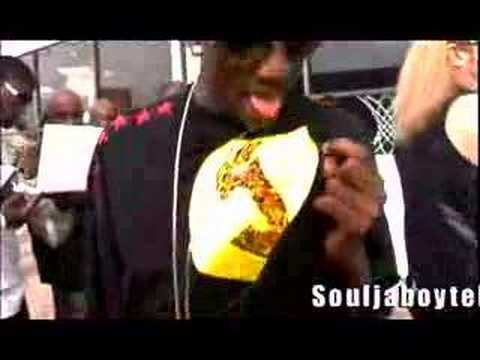 Soulja Boy Tell Em - YAAHHH! Behind The Scenes Look!