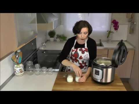 How to Make Yogurt with Instant Pot IP-DUO electric pressure cooker