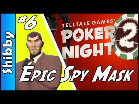 Poker Night 2 - Epic Spy Mask Dapper Disguise (Team Fortress 2 Item Quest. EP6)