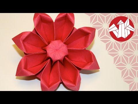 Origami fleur comment plier un gerbera senbazuru youtube - Youtube origami fleur ...