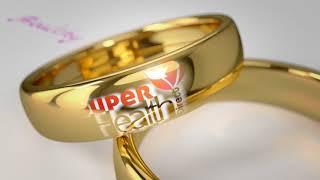 super health   wedding rings