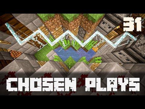 Chosen Plays Minecraft 1.13 Ep. 31 Automatic Sugar Cane Farm