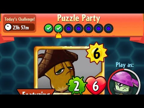 Puzzle Party | 22 November 2017 | Plants vs. Zombies Heroes