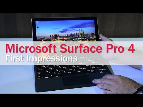 Microsoft Surface Pro 4: Hands-On